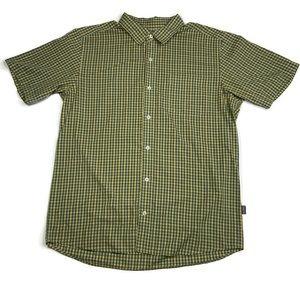 Patagonia Plaid Short Sleeve Shirt Men's Medium